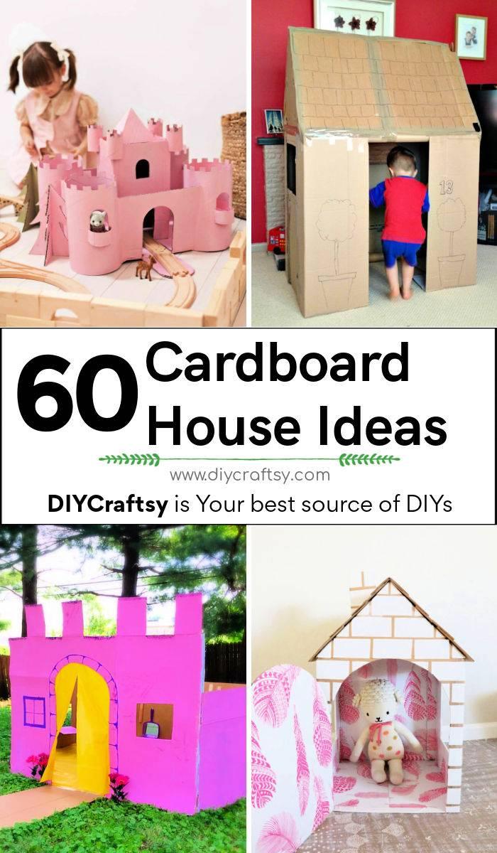 60 Unique Cardboard House Ideas