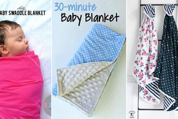 60 easy diy baby blanket ideas and patterns to sew and quilt