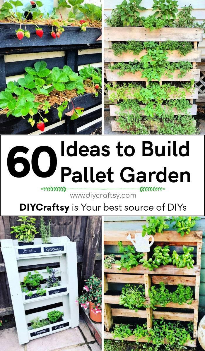 60 pallet garden ideas to start gardening using free pallets