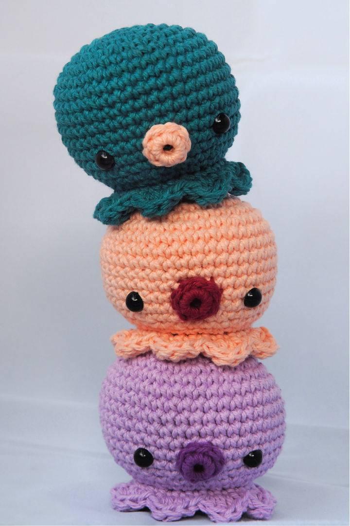 Amigurumi Octopus Crochet Pattern