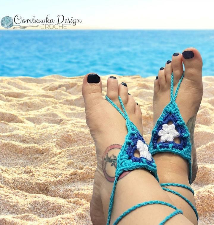 Beach Day Barefoot Sandals