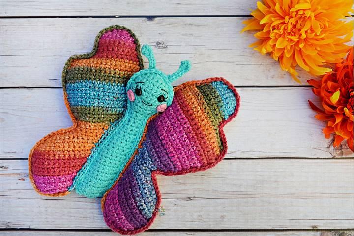 Butterfly Amigurumi Crochet Pattern