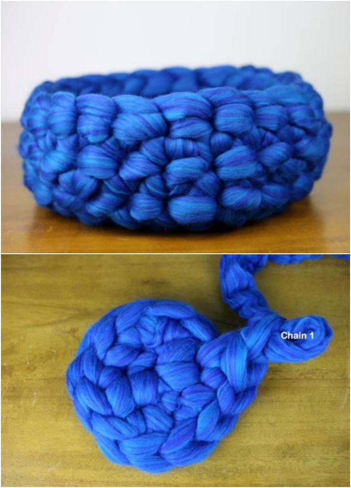 Cozy Crochet Cat Bed