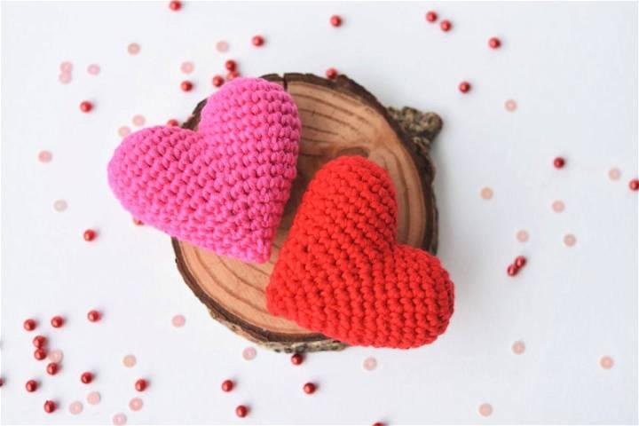 Crochet Amigurumi Heart