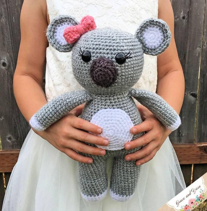 Crochet Amigurumi Koala Bear Pattern