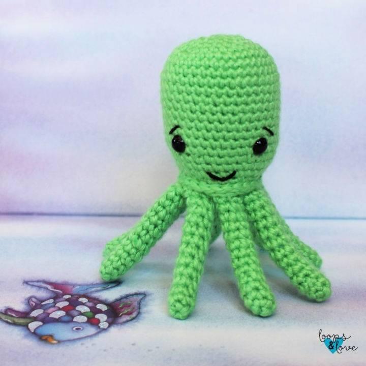 Crochet Amigurumi Octopus Pattern