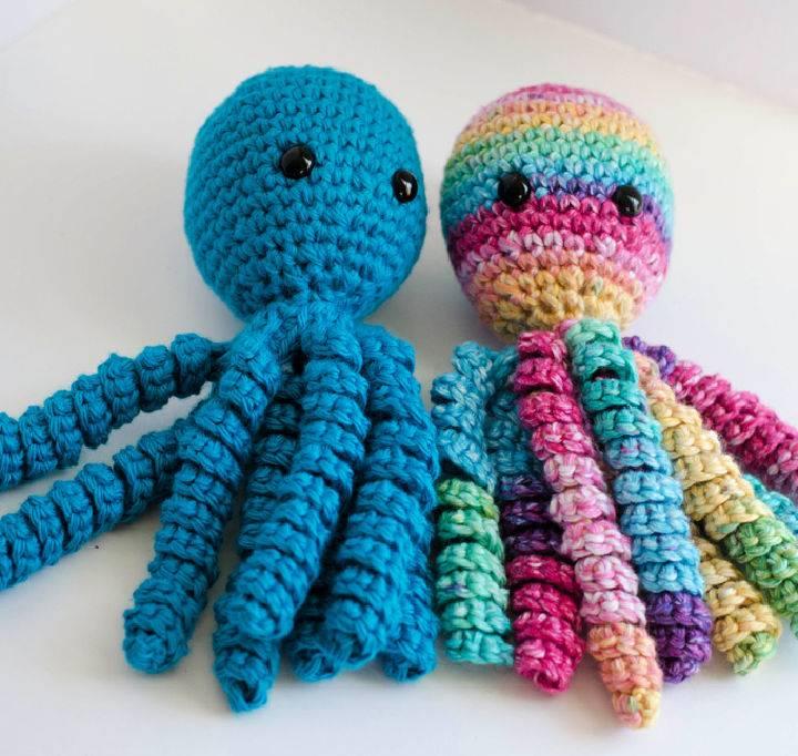 Crochet An Octopus for Preemies