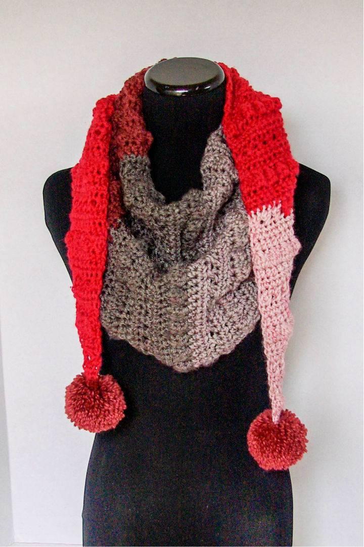 Crochet Autumn Chill Mod Scarf
