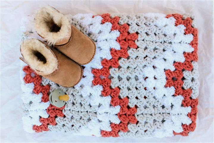 Crochet Baby Blanket For Beginners