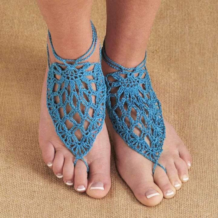 Crochet Bermuda Barefoot Sandals