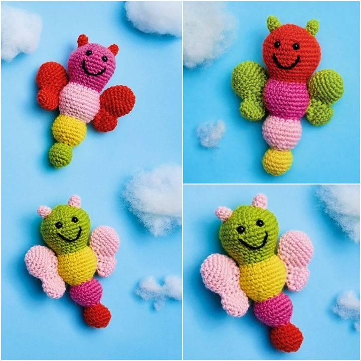 Crochet Butterfly Buddies Amigurumi