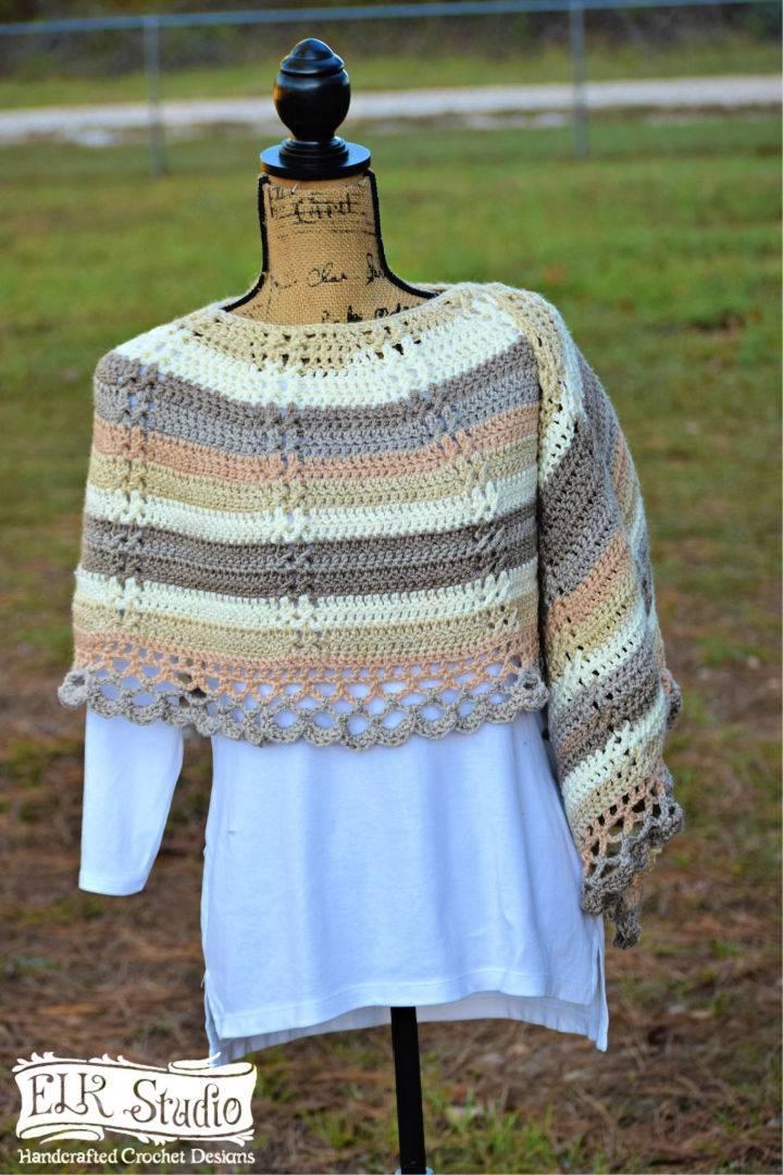 Crochet Caron Cakes Southern Shawl
