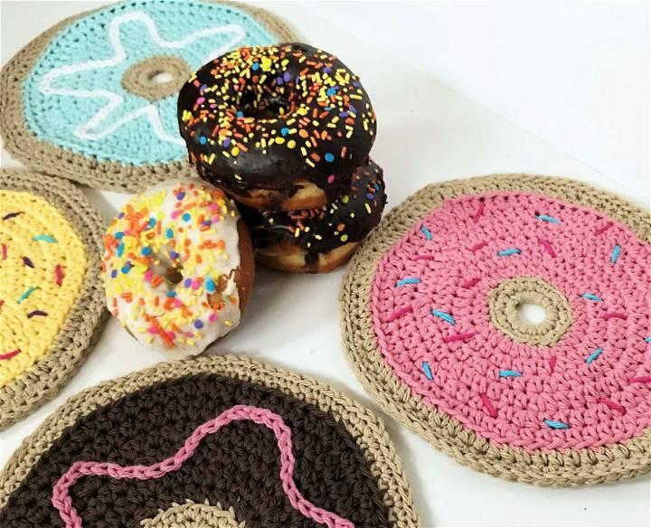 Crochet Donut Dish Cloth – Free Pattern