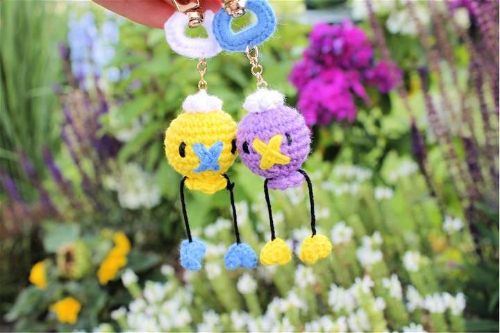 Crochet Driftloon Keychain Pattern