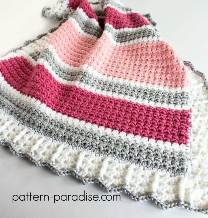 Crochet Essentials Baby Blanket