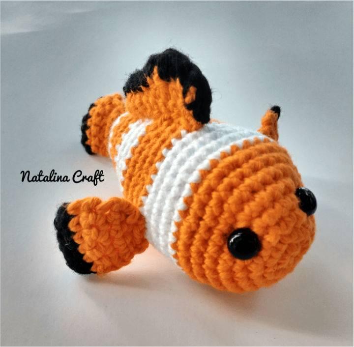 Crochet Fish Amigurumi Free Pattern
