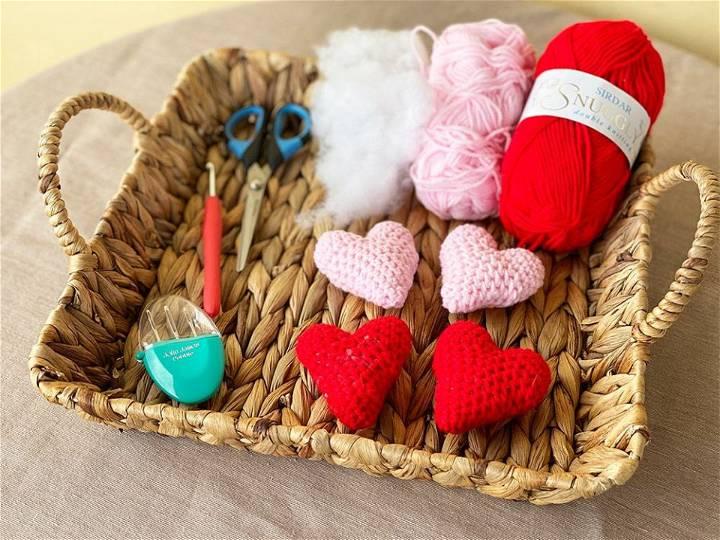 Crochet Heart Amigurumi Pattern