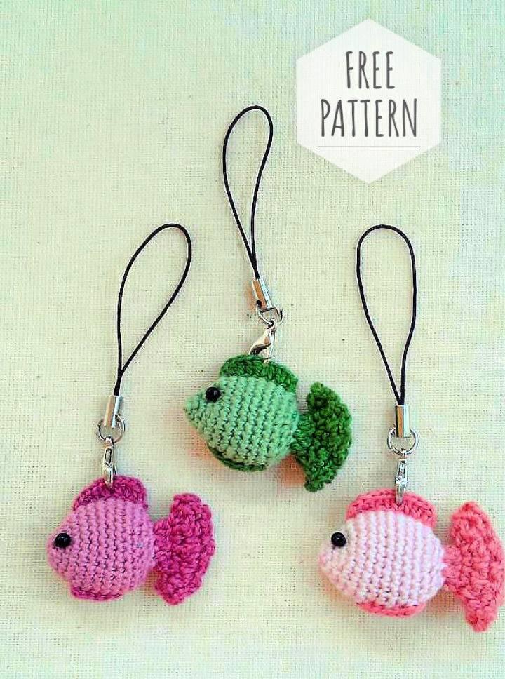 Crochet Keychain Fish Patterns