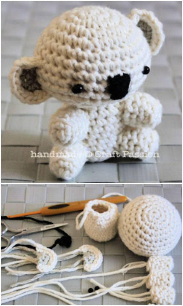 Crochet Koala Amigurumi Pattern