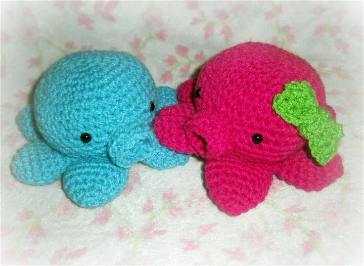 Crochet Little Octopus Amigurumi