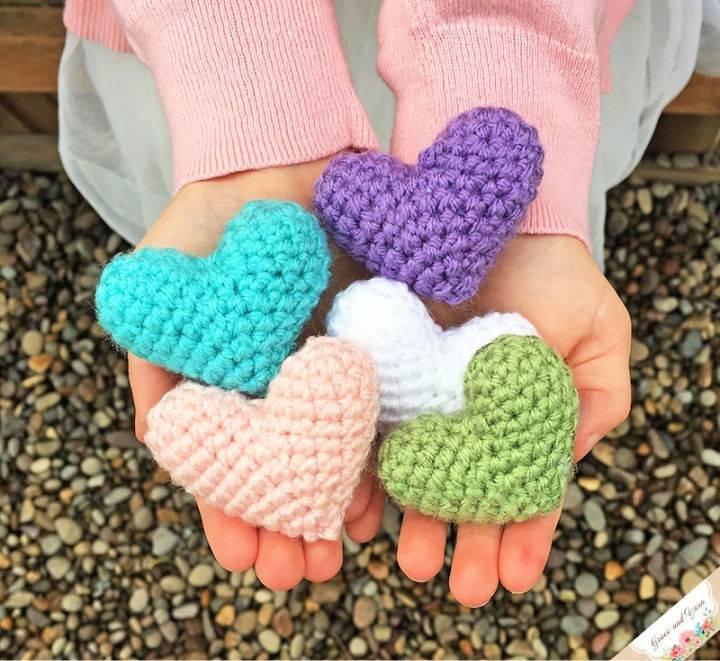 Crochet Mini Amigurumi Heart