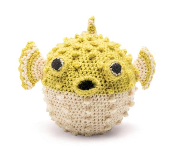 Crochet Puffer Fish Pattern