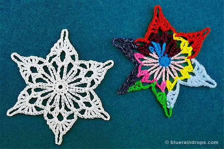 Crochet Snowflake Tinos Pattern
