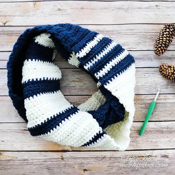 Crochet Spirit Scarf Infinity Scarf