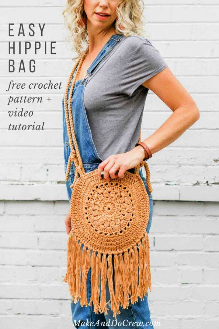 Crochet Street Fair Boho Purse Pattern