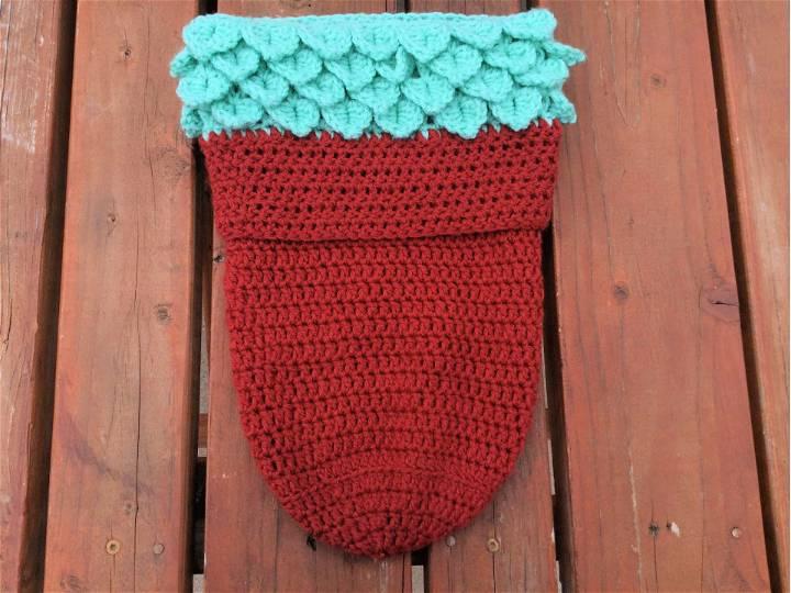 Crochet Succulent Pot Baby Cocoon
