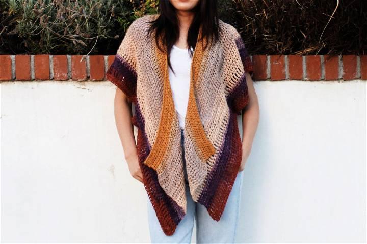 Crochet Swallowtail Cardigan Pattern