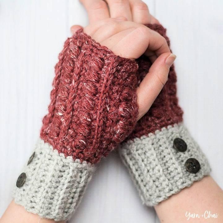 Crochet The Malia Wrist Warmers Pattern