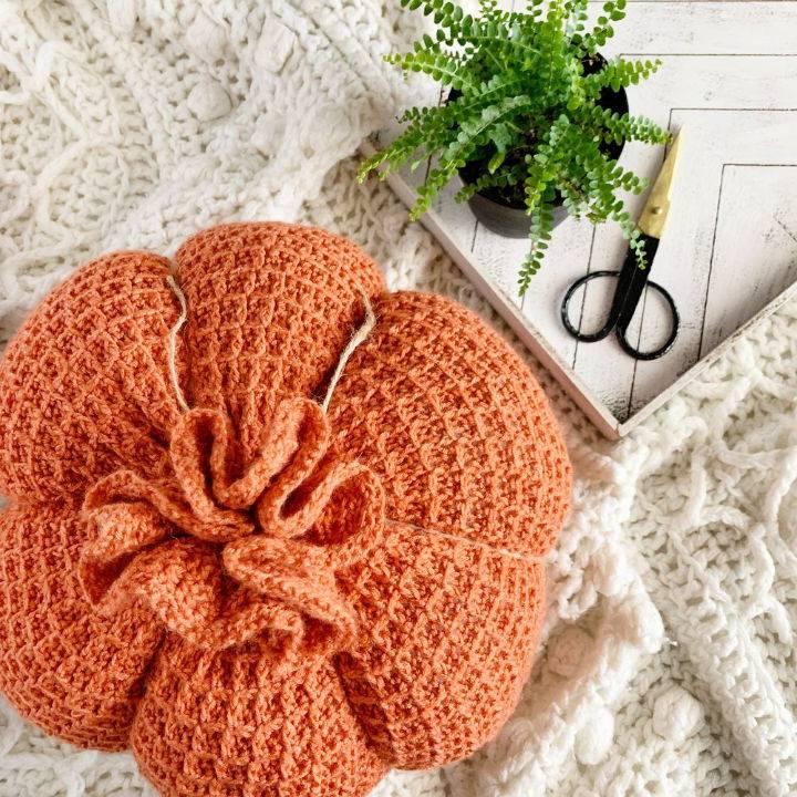 Crochet The Wavel Pumpkin Pattern