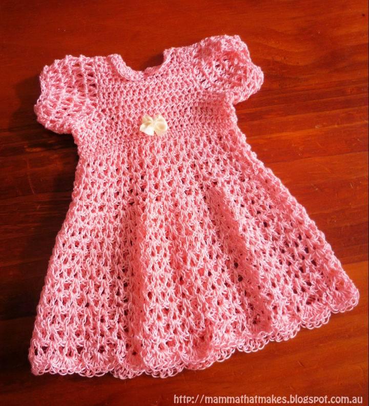 Crochet Wendy Thread Gown Pattern