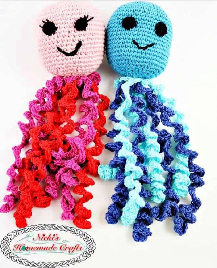 Crochet an Octopus Amigurumi for Boy and Girl Preemies