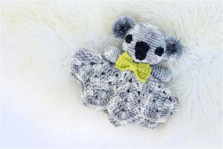 Cuddly Koala – Free Crochet Lovey Patterns