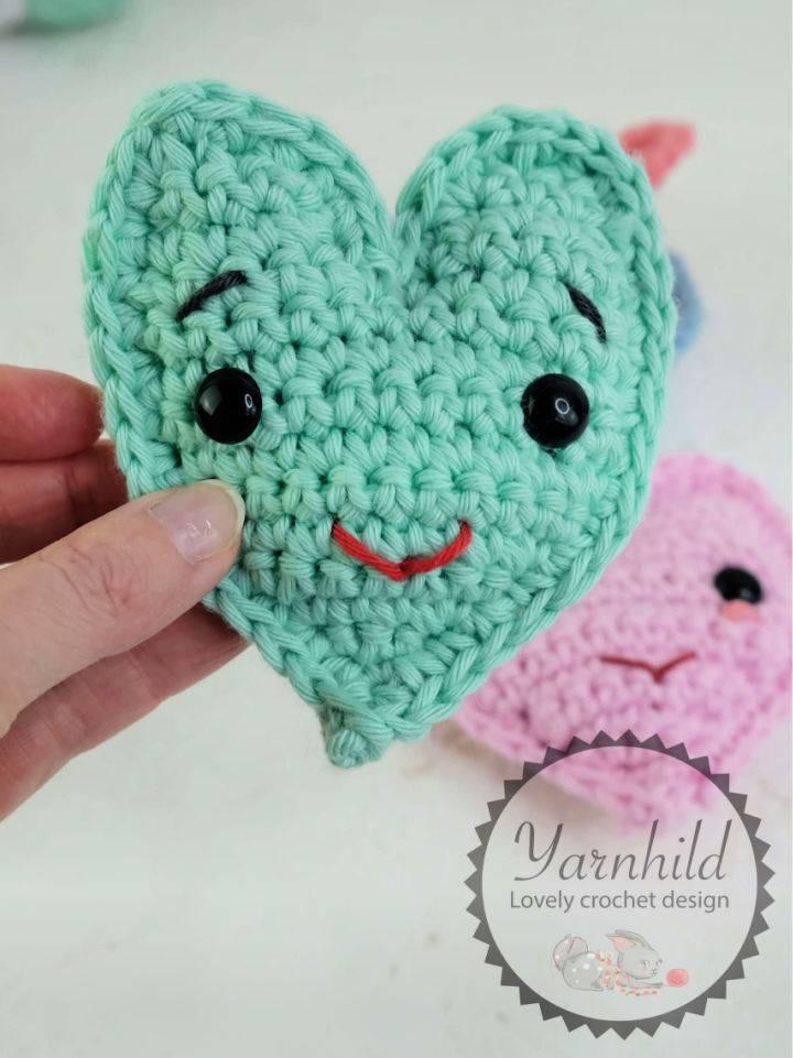 Cute Crochet Heart Pattern