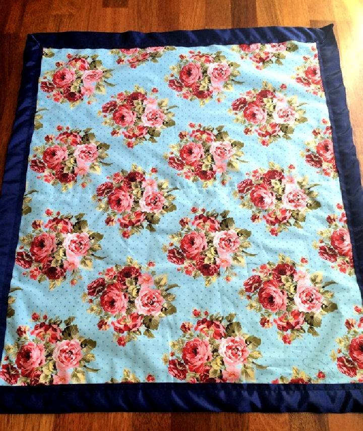DIY 1 Hour Baby Blanket