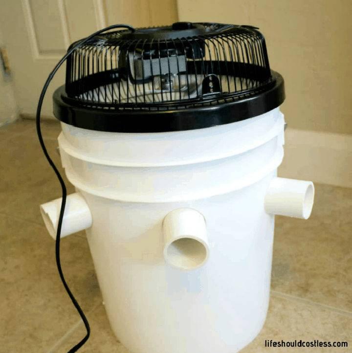 DIY Bucket Air Conditioner