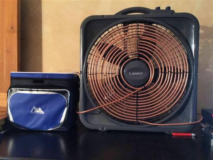 DIY Dorm Air Conditioner