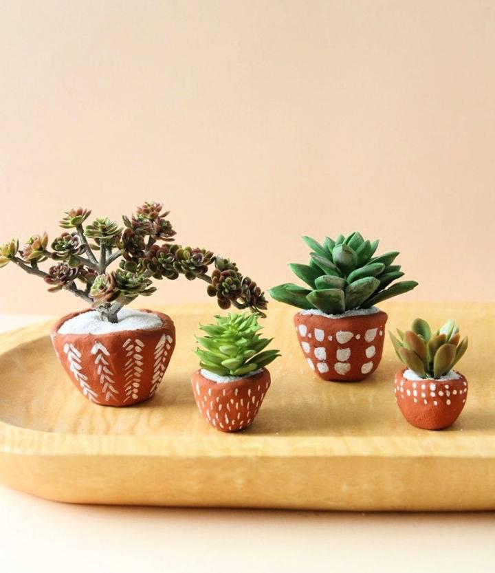 DIY Terracotta Pinch Pots