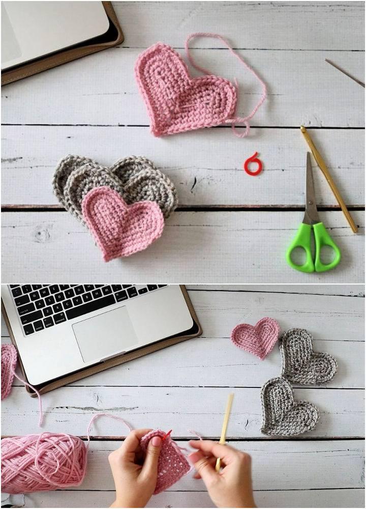Easiest Crochet Heart Ever