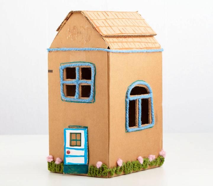 Easy to Make Cardboard Box House