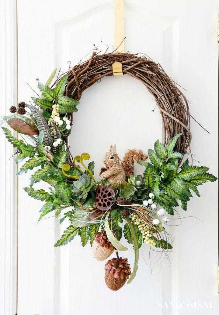 Fall Woodland Wreath