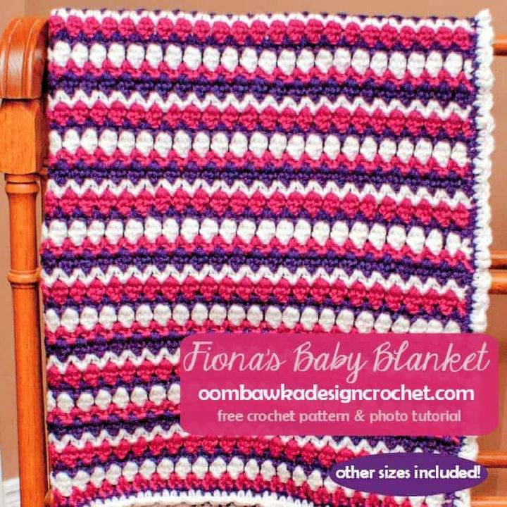 Fionas Free Crochet Baby Blanket Patterns