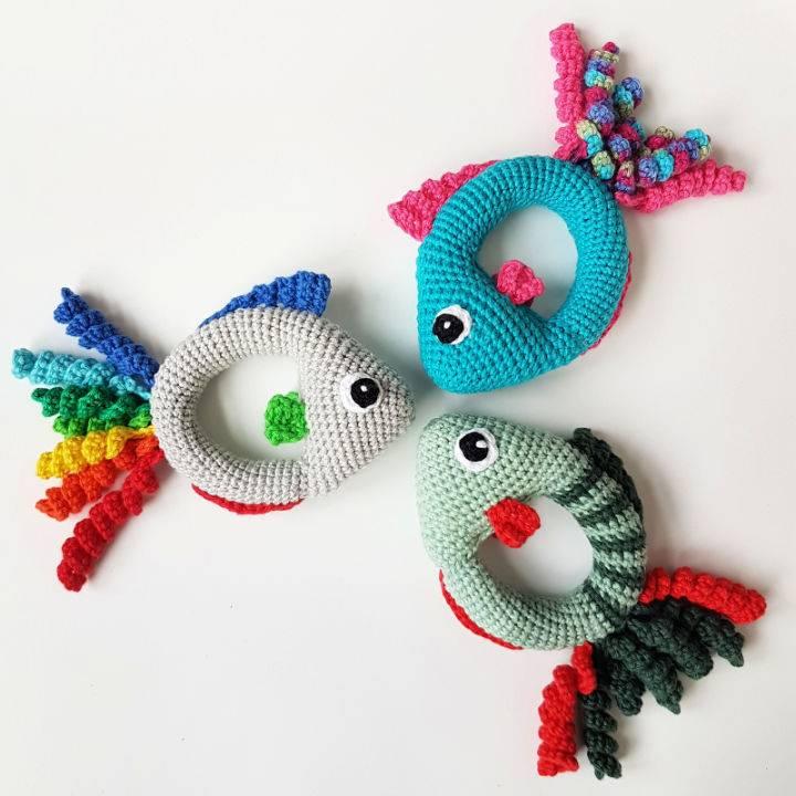 Fish Rattle Crochet Pattern