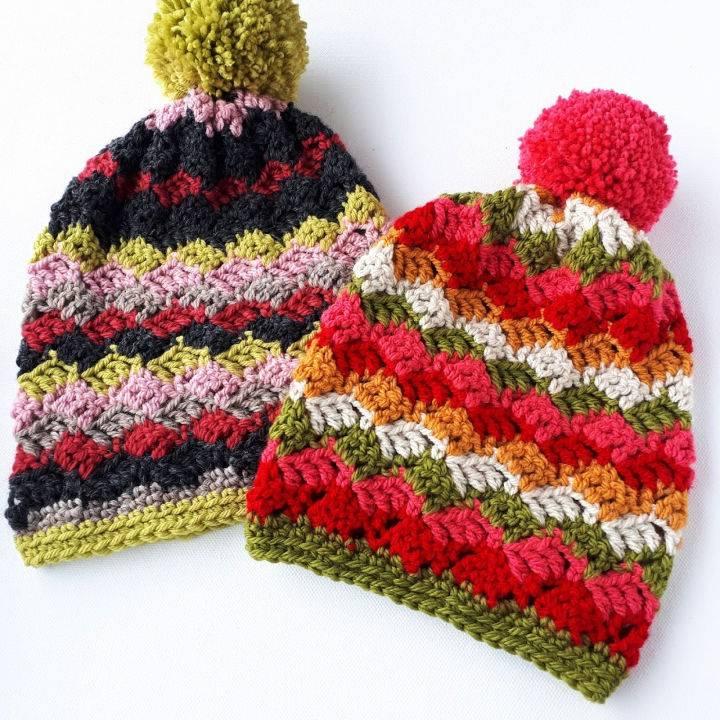 Free Crochet Childrens Hats Pattern