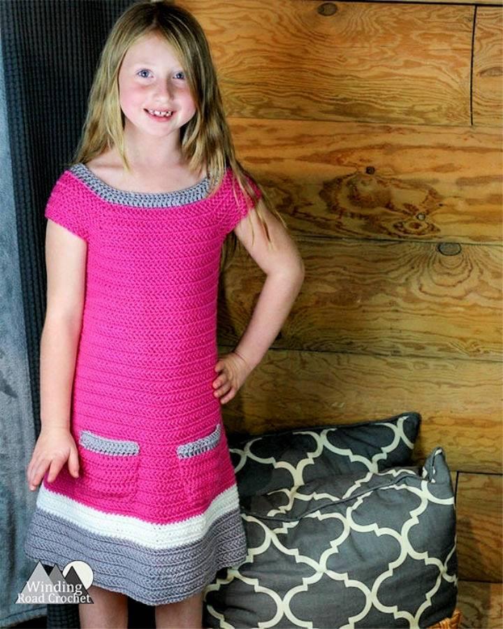 Free Crochet Emma Dress Pattern