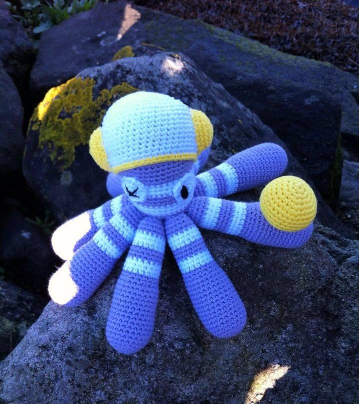 Free Crochet Octopus Dave Pattern