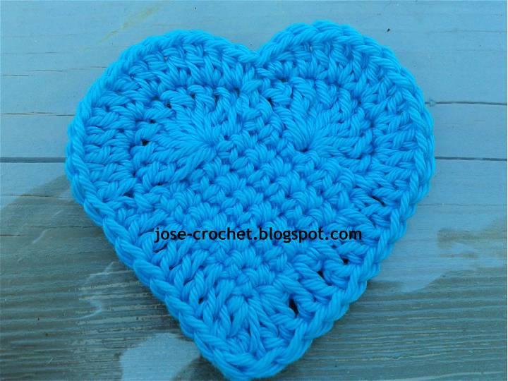 Free Crochet Pattern for Heart